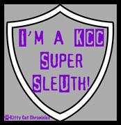 I'm a KCC Super Sleuth Badge