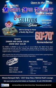 Cat Sullivan Show - Macon Purrs & Paws Fundraiser