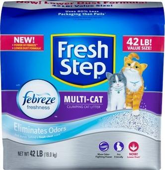 The KCC Cat Litter Check List | #FreshStepFebreze