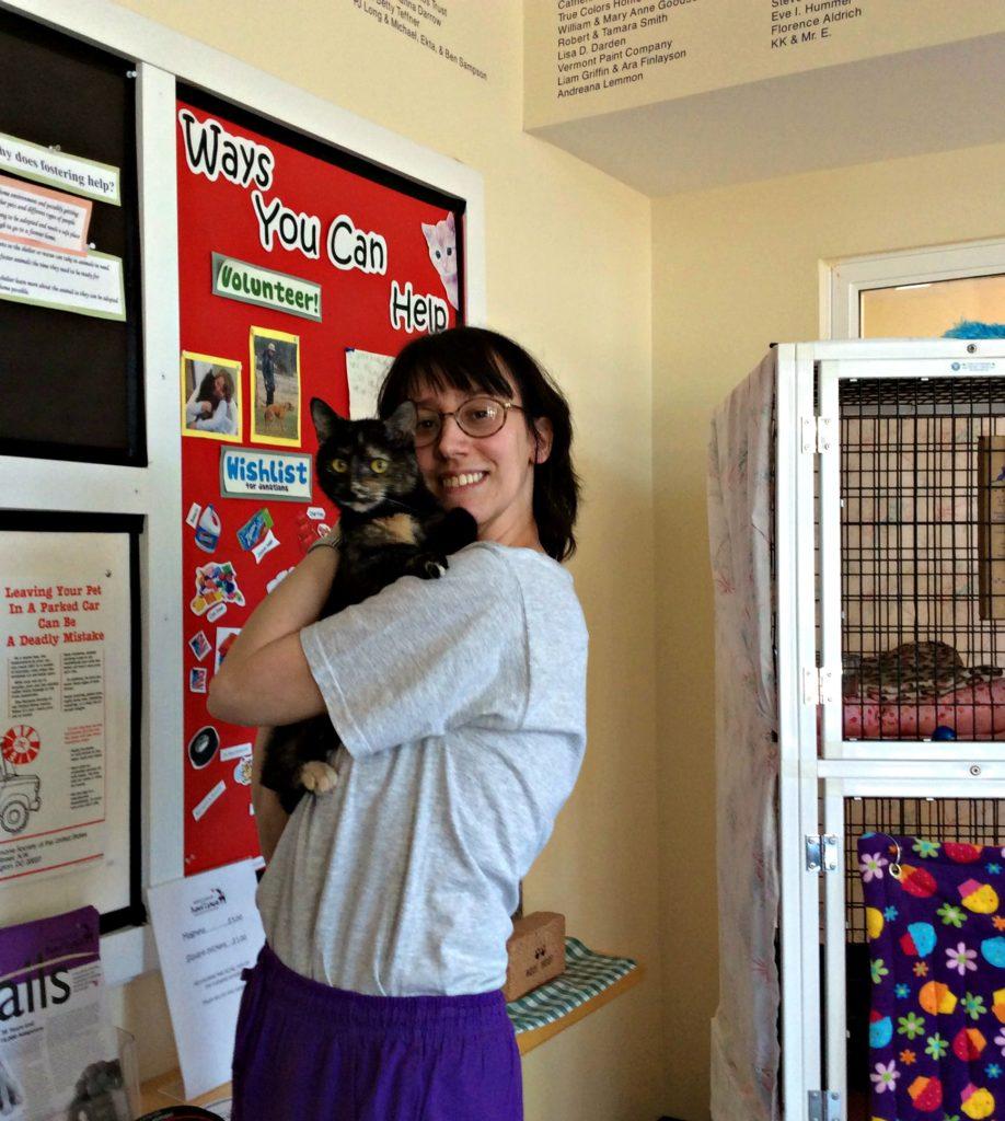 Melissa & Mudpie - Hug Your Cat Day