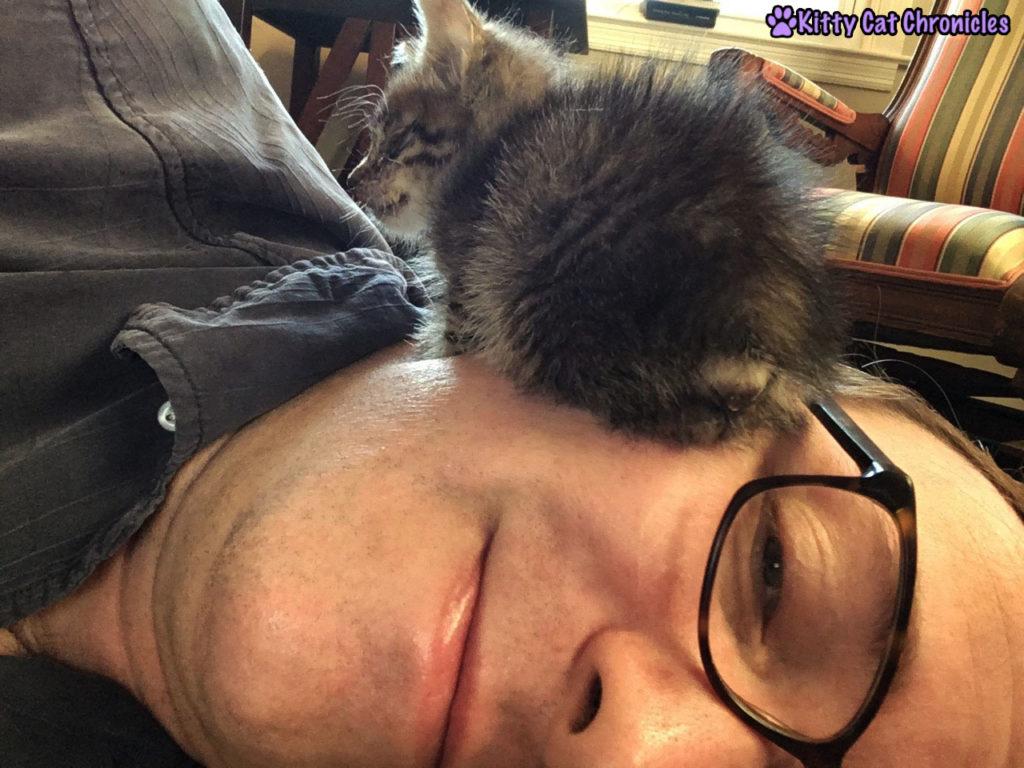 Milton and Dad Selfie