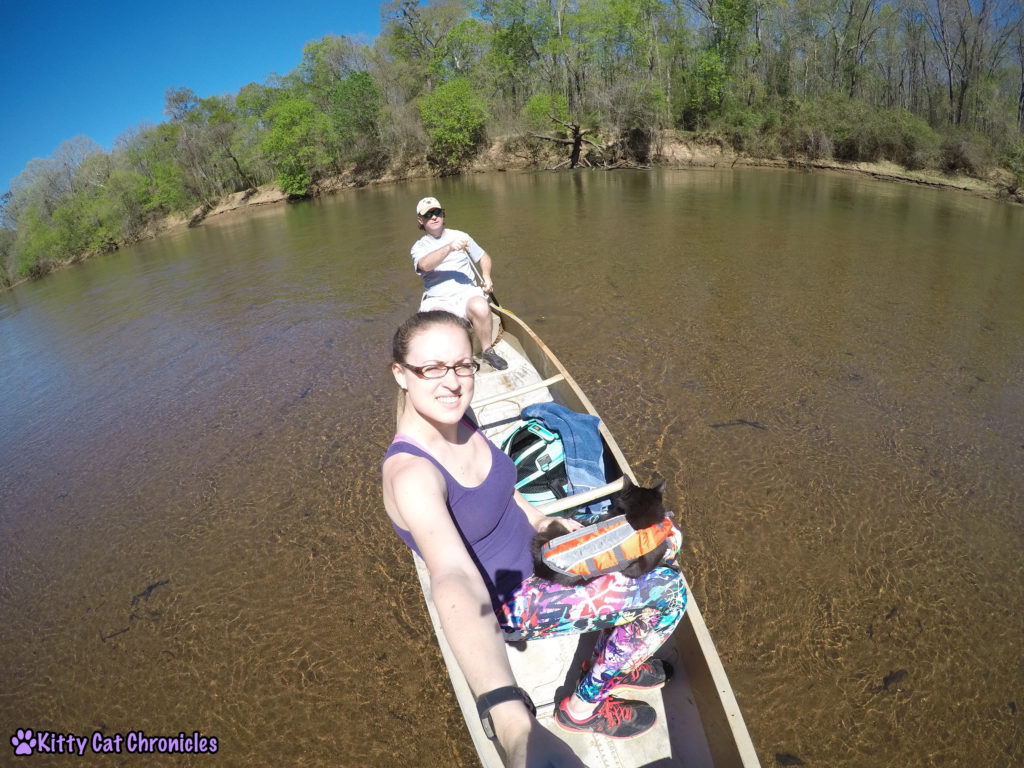 Hiking & Canoeing with Kylo Ren, Adventure Cat
