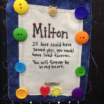 The Adventure Team Goes to BlogPaws - Honor Flag for Milton