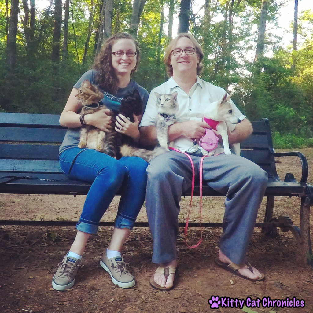 The KCC Adventure Team Date Night at Amerson River Park - Family Photo