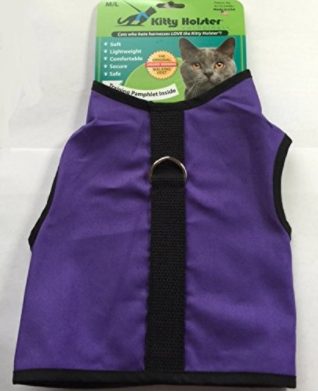 The 2017 KCC Adventure Cat Holiday Gift Guide - Kitty Holster cat harness
