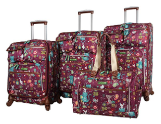 The 2017 Holiday Gift Guide for Adventure Cat Lovers - Cat-themed Luggage Set