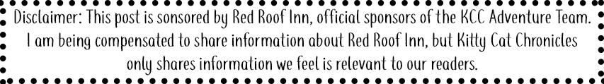 Red Roof Inn Sponsorship Disclaimer