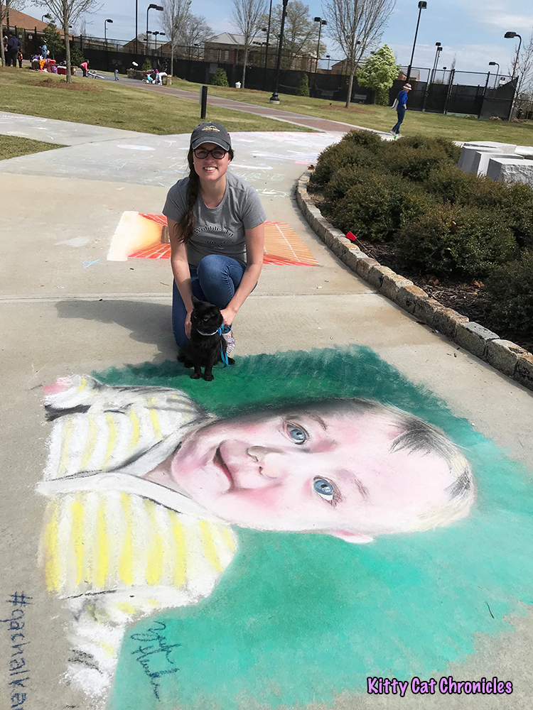 An Afternoon of Art and Reflection with Kylo Ren - Baby Chalk Art
