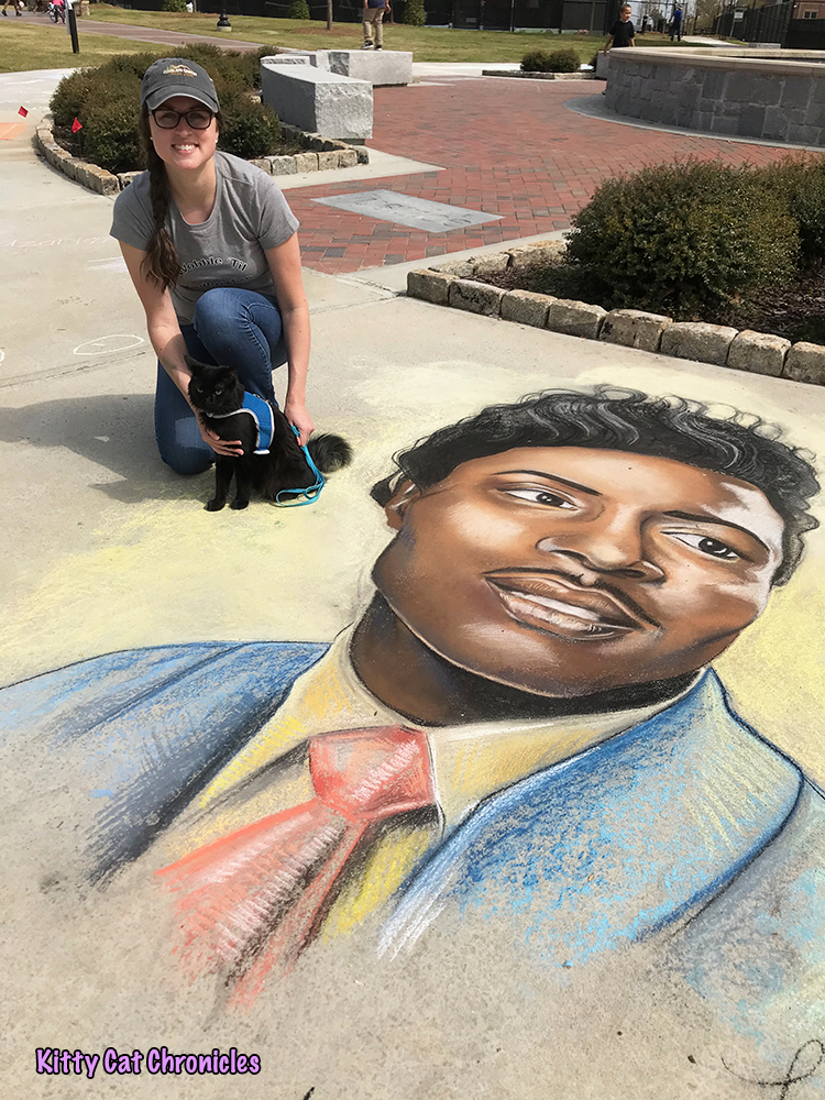 An Afternoon of Art and Reflection with Kylo Ren - Little Richard chalk art