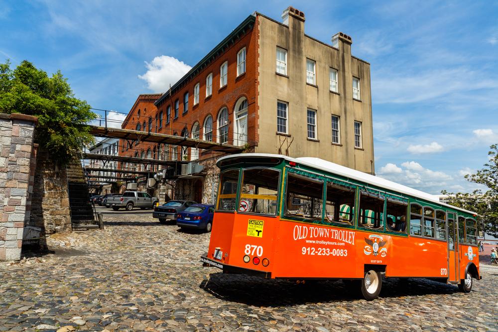 Adventure Cat Travel Guide: Savannah, GA - Trolley Tour
