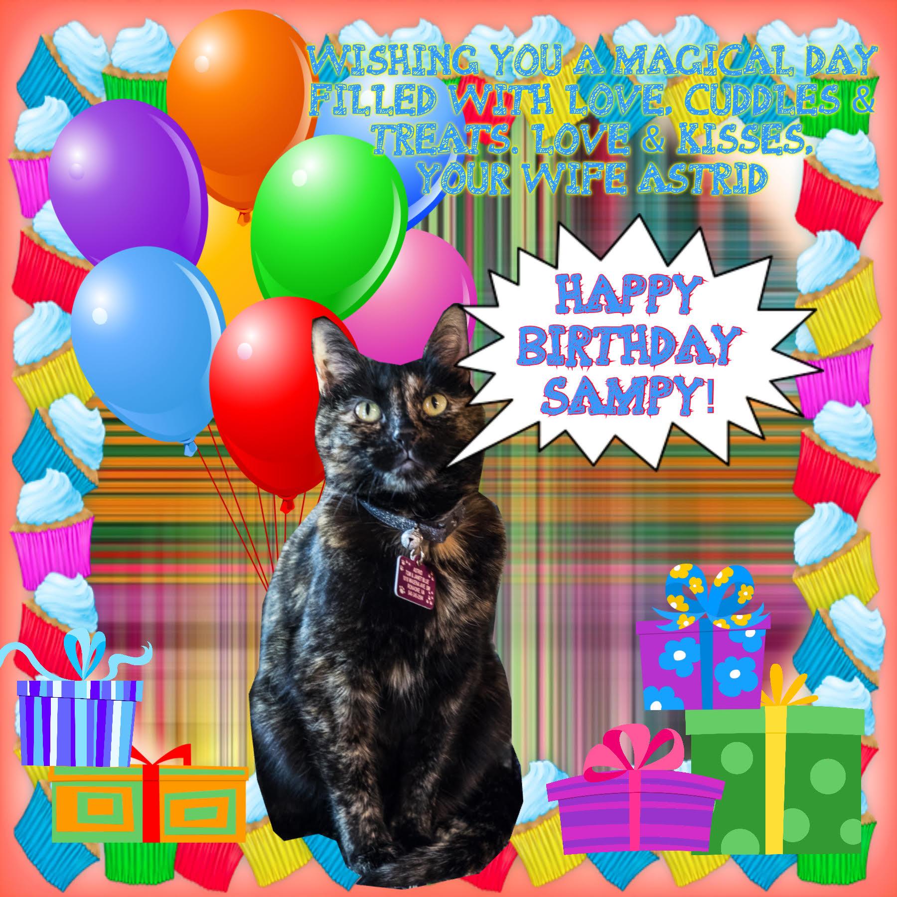 Happy Belated Birthday, Sampson!