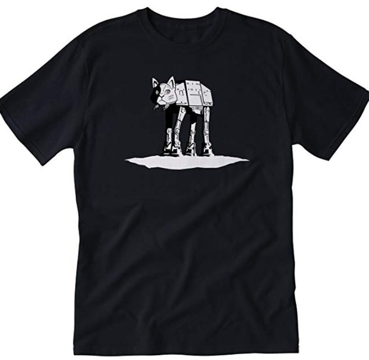 Star Wars cAT-cAT T-shirt