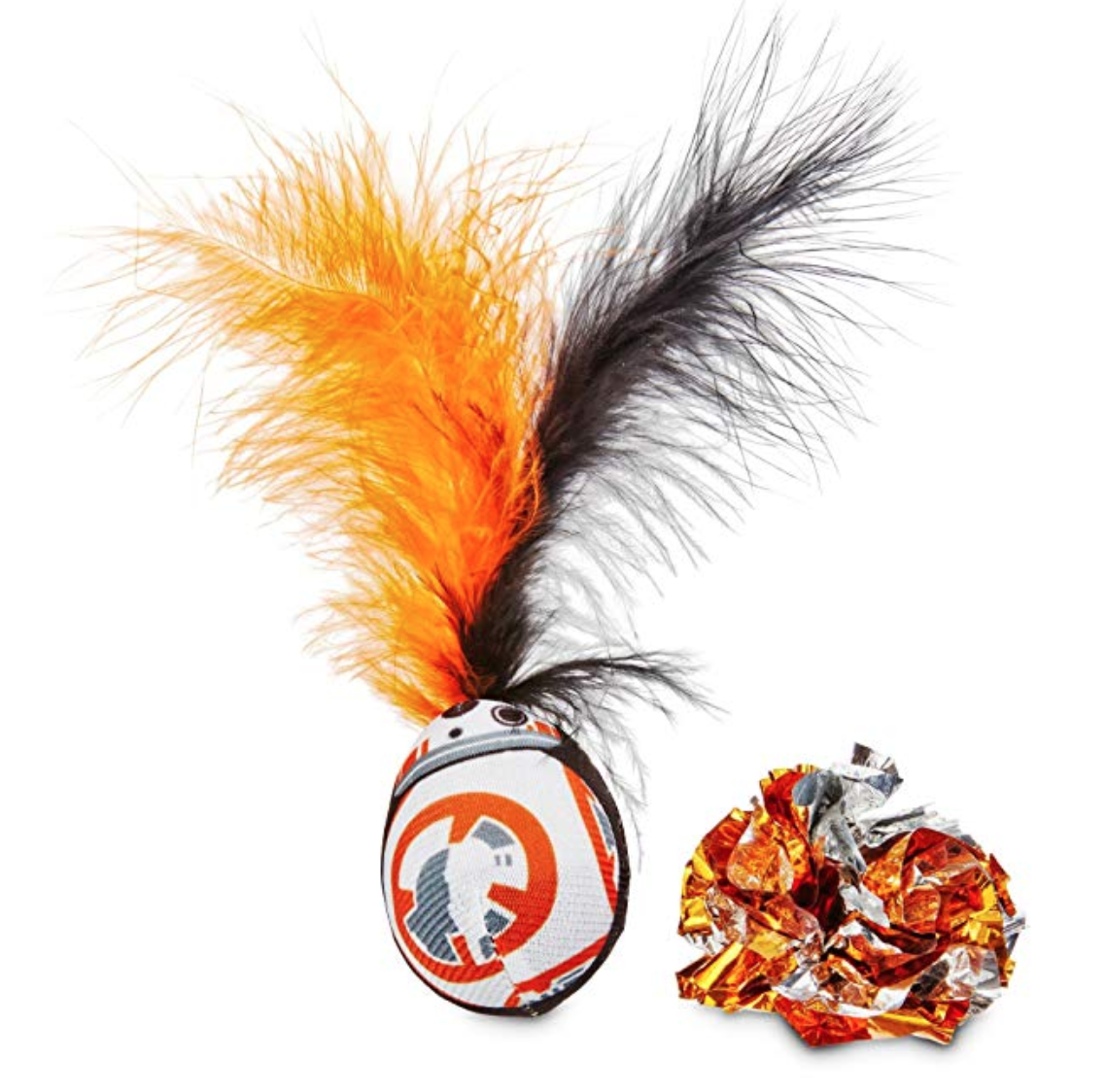 Star Wars BB-8 Wobble and Crinkle Ball Cat Toy