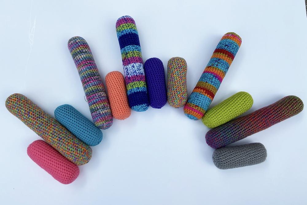 Crochet Catnip Cat Toys - kicker toys