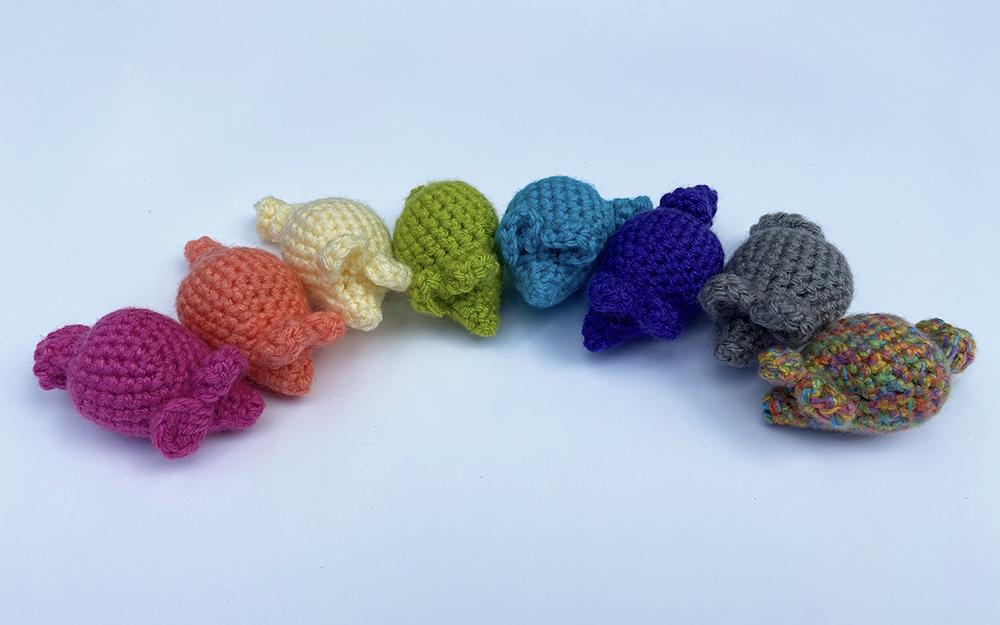 Crochet Catnip Cat Toys - catnip mice