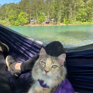 Camping at Lake Juliette with Kylo & Sophie